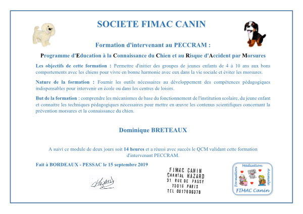 formation PECCRAM